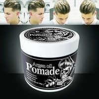 100g forte tenue cheveux Gel cire pour cheveux hommes longue durée sèche stéréotypes Type cheveux baume huile cire pour le contrôle des bords de coiffure