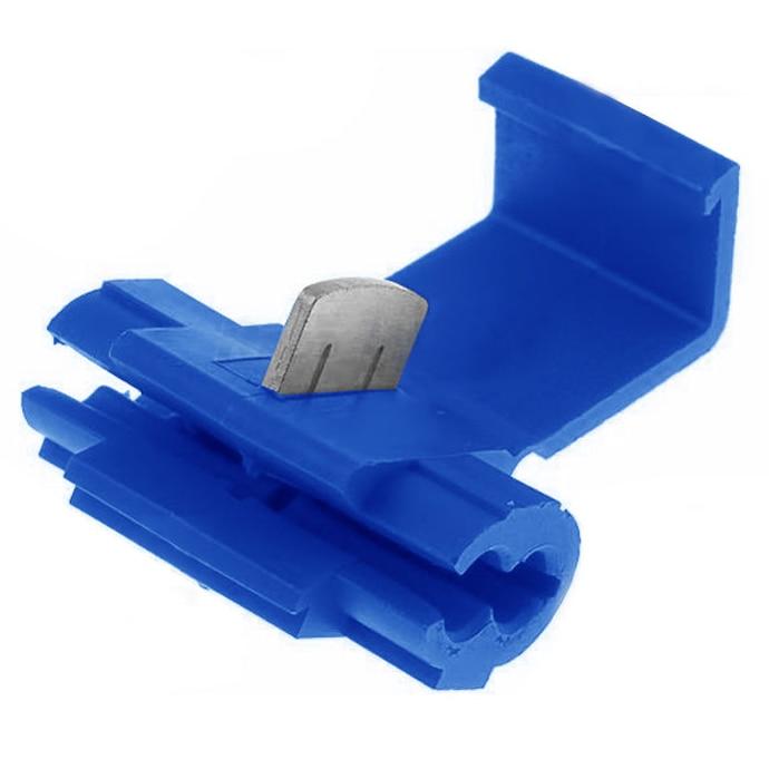 цена на MYLB-100x Blue Scotch Lock Wire Connectors Quick Splice Terminals Crimp Electrical