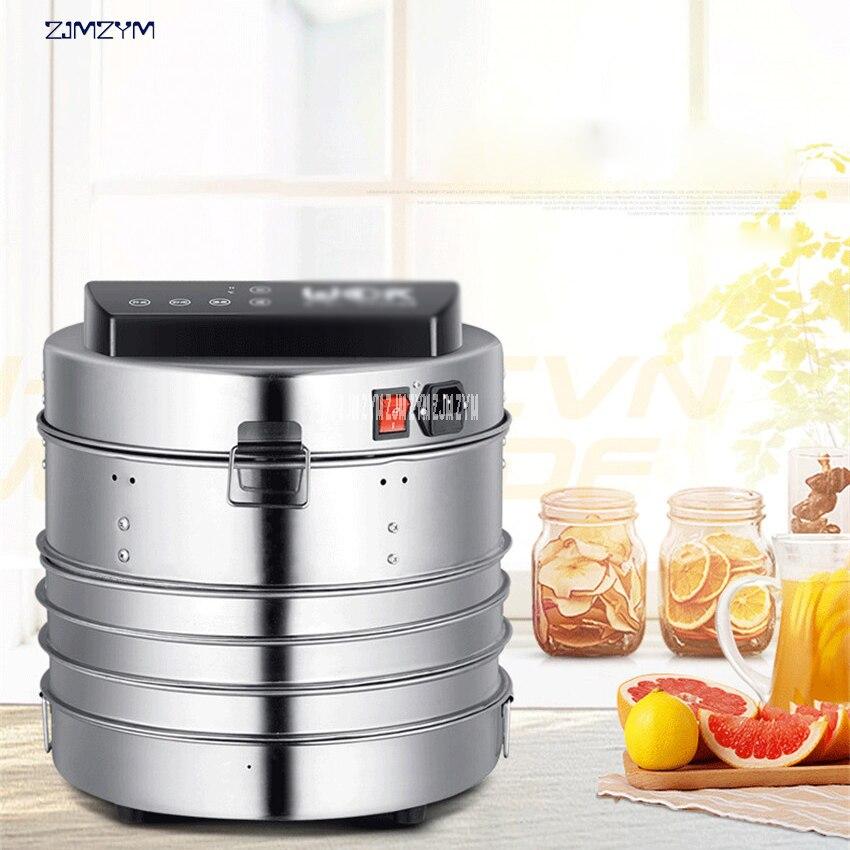 LT-02 température contrôle du temps en acier inoxydable déshydrateur de fruits machine sèche pour fruits légumes robot culinaire séchage de la viande
