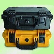 Multi-functional plastic instrument case waterproof plastic tool box