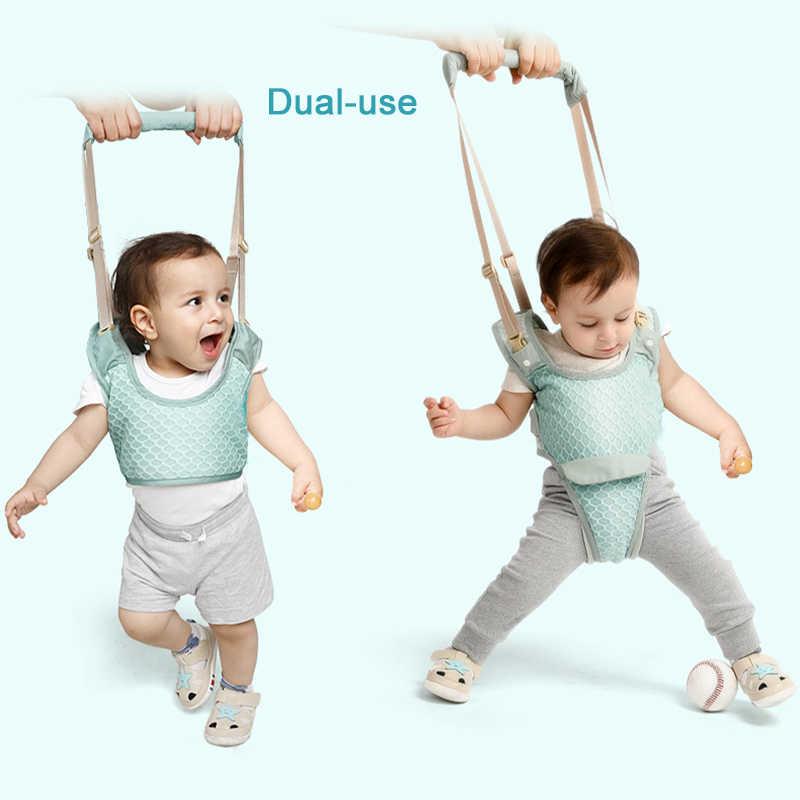 תינוק הליכון פעוט לרתום עוזר תרמיל ילדי ילדי הליכה למידה חגורת לקום רצועות רצועת כנפי 10-36 חודשים