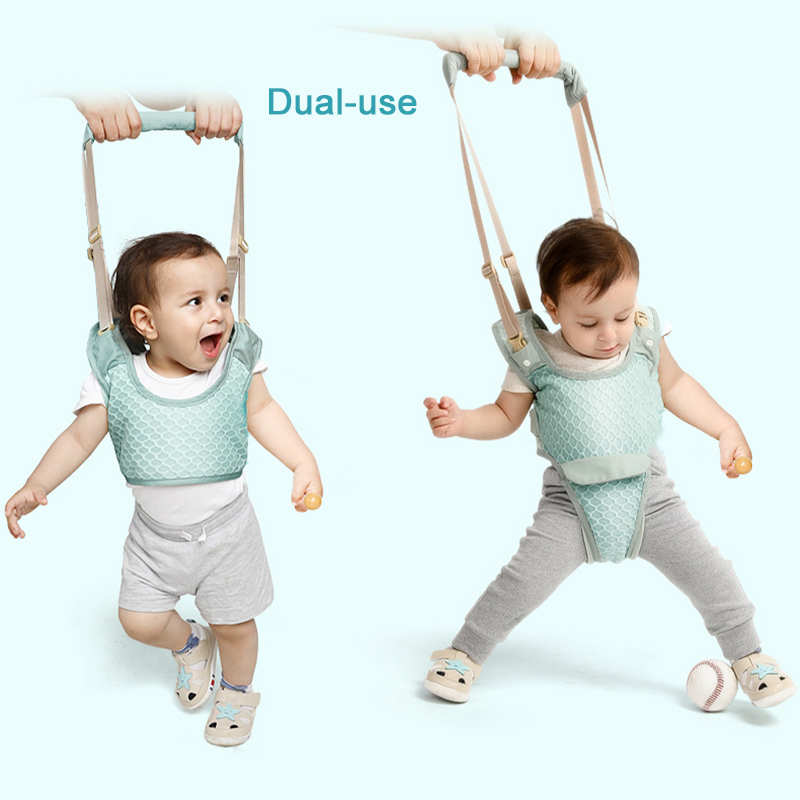 Baby Walker Toddler Harness Assistant Backpack Children Kids Walking Learning Belt Stand Up Leashes Strap Wings 10-36 Months | Happy Baby Mama