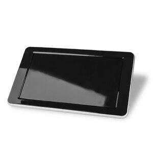 Image 3 - 1024x600 9 رقيقة جدا TFT LCD مسند الرأس دي في دي شاشات HD فيديو المدخلات راديو AV رصد لسيارة الصوت أندرويد مشغل ديفيدي الخلفية كام