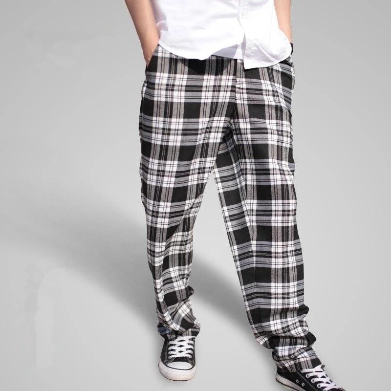 2019 Yeni Erkek Hashas Kilitleme Ekose Pantolon Moda Kisilik Rahat Hip Hop Erkekler Pantolon Buyuk Boy Baggy Harem Pantolon A3393 Big Size Pants Plaid Pantsfashion Pants Aliexpress
