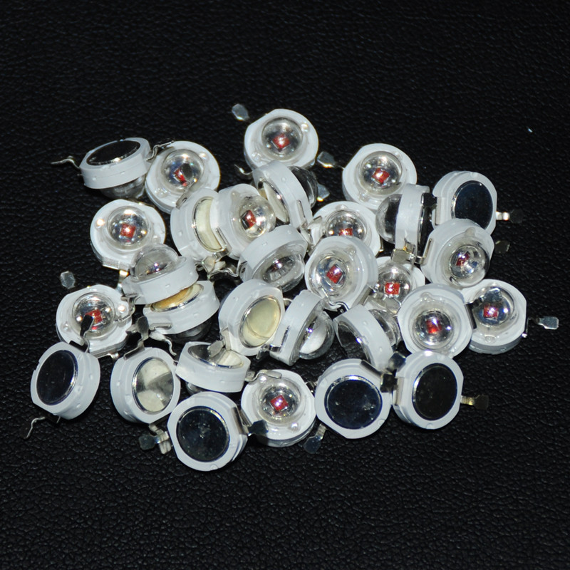 20pcs 1w High Power Led Diodes White Red Green Blue Orange Yellow Light Emitting Diode 1watt Chip Led Diodo Lampada Beads 1-watt Electronic Components & Supplies