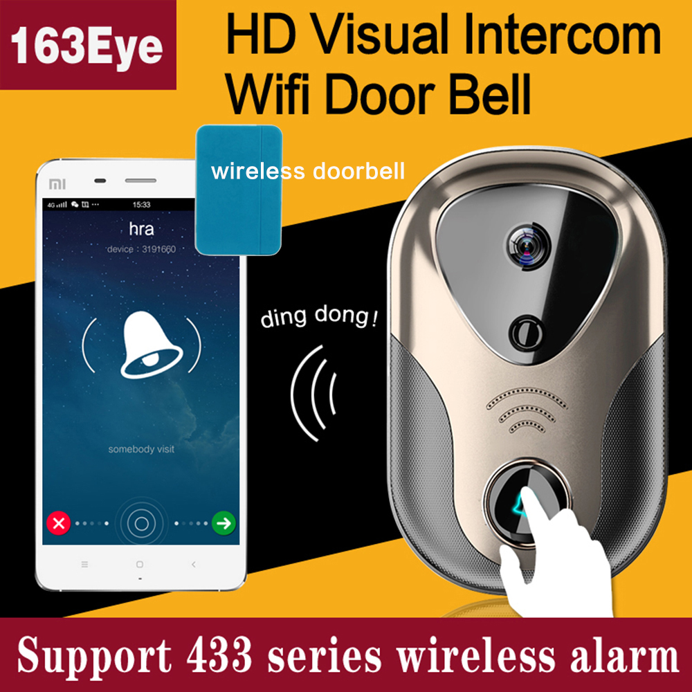 CWH Wireless Home Intercom Video Door Phone Wired Electronic Doorman with Camera Support Monitor 433 Alarm Electronic Door Lock dean exultra cwh