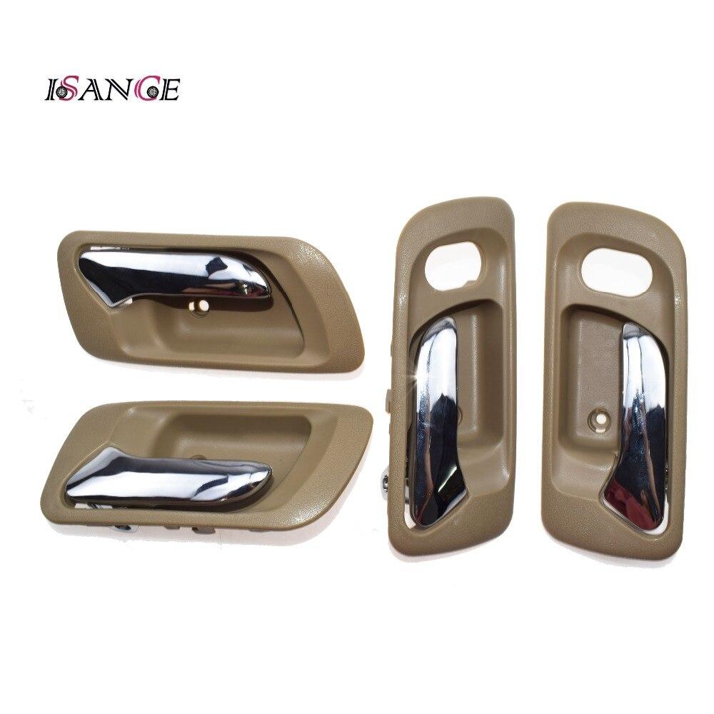 Isance front inside interior door handle left right set - 2000 honda accord exterior door handle ...