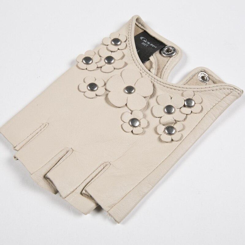 Gours Guantes de cuero genuino para mujeres Otoño 2018 Nueva marca - Accesorios para la ropa - foto 5