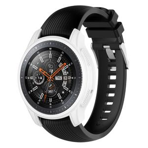 Image 5 - 5 cores silicone caso protetor de tela capa protetora para samsung gear s3 frontier smartwatch caso para galaxy assista 46mm