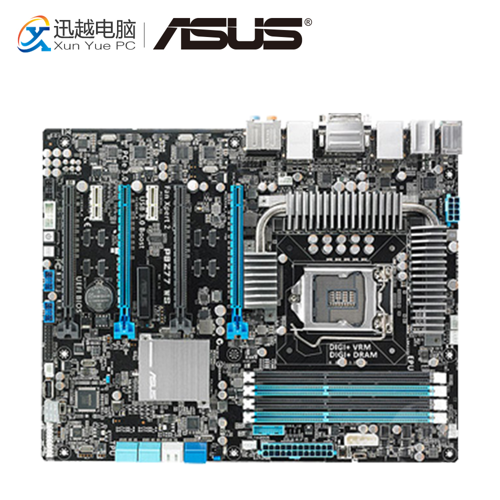 Asus P8Z77 WS Desktop Motherboard Z77 Socket LGA 1155 DDR3 32G 4*PCI-E3.0 SATA3 USB3.0 ATX On Sale lowell настенные часы lowell 11809g коллекция glass page 8