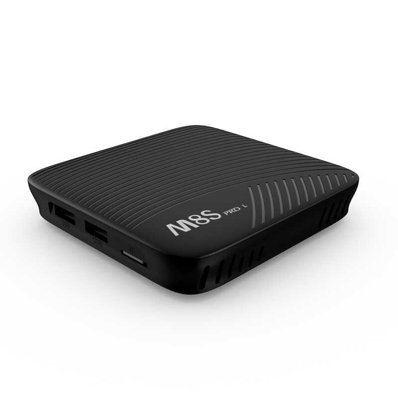 Mecool M8S プロ L Atv の Android 7.1 スマート TV ボックス Amlogic S912 64 ビットオクタコア 3 ギガバイト 32 ギガバイト DDR3 2.4G-5 3gwifi 4 18K HD BT4.1 メディア再生
