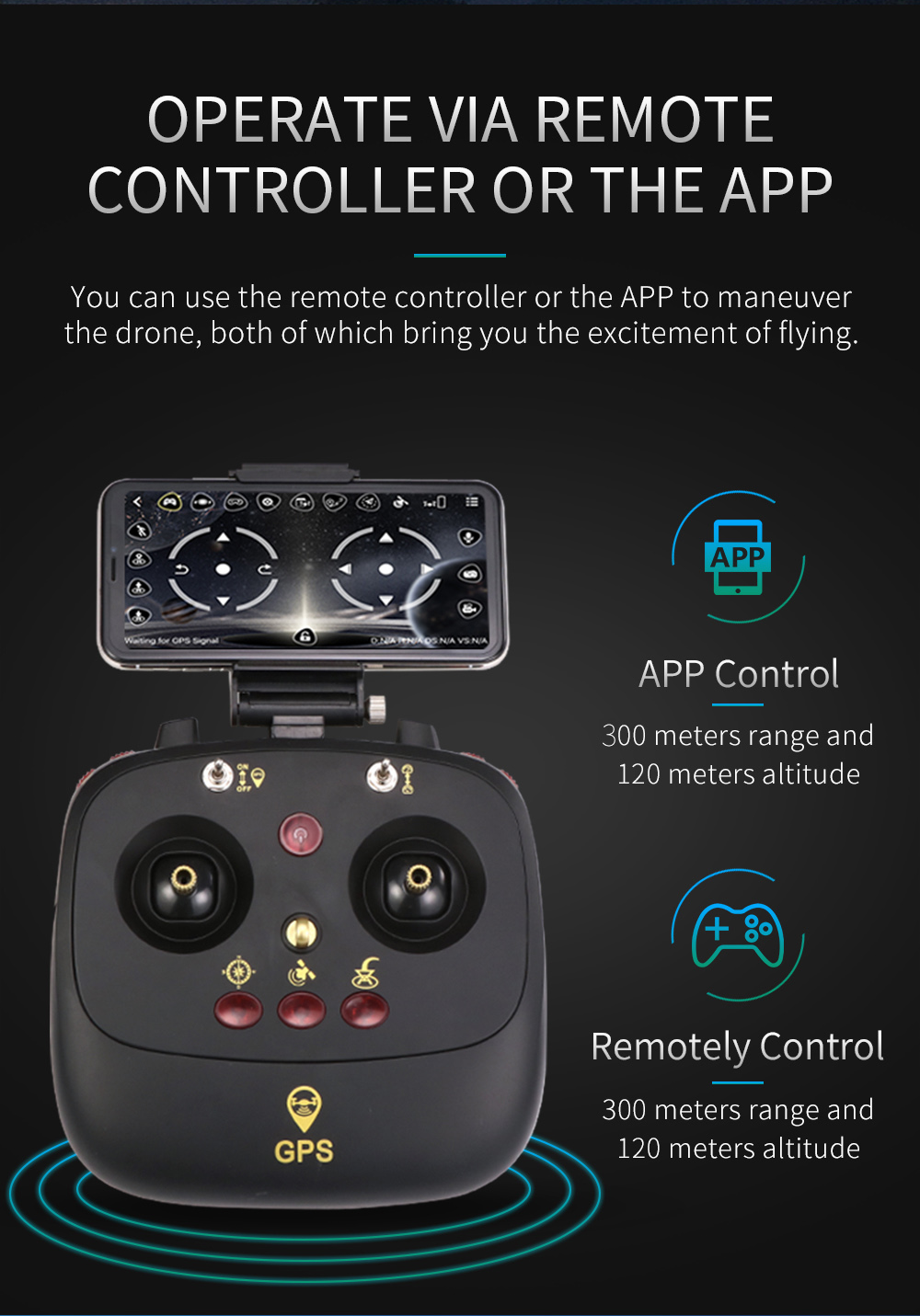 JJRC H68G GPS Drone With Camera 1080P HD 5G Wifi FPV Quadrocopter RC Helicopter Professional Dron Compass Auto Follow Quadcopter 12