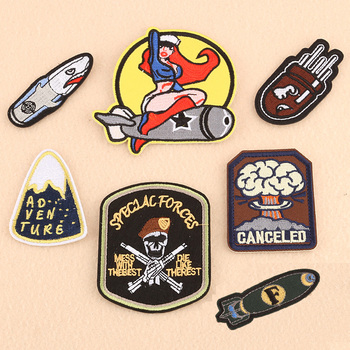 1pcs Mix Car Patches for Clothing Iron on Embroidered Sew Applique Cute Patch Fabric Badge Garment DIY Apparel Accessories-16 image