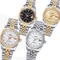 36mm Parnis Sapphire Glas 21 Juwelen Miyota Leucht Automatische Frauen Uhr-in Mechanische Uhren aus Uhren bei
