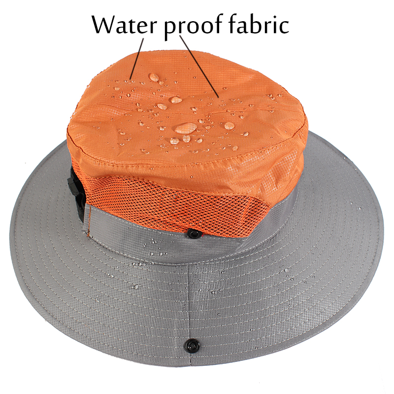 311df739e33ed Waterproof UPF 50+ Sun Hat Bucket Summer Men Women Fishing Boonie Hat Sun  UV Protection Long Large Wide Brim Bob Hiking Outdoor ~ SPECIAL OFFER MAY  2019 ...