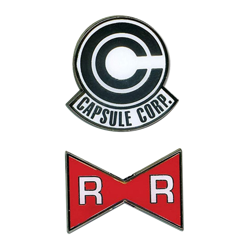 Red Ribbon Japanese Anime Costume Patches Dragon Ball Z Capsule Corp