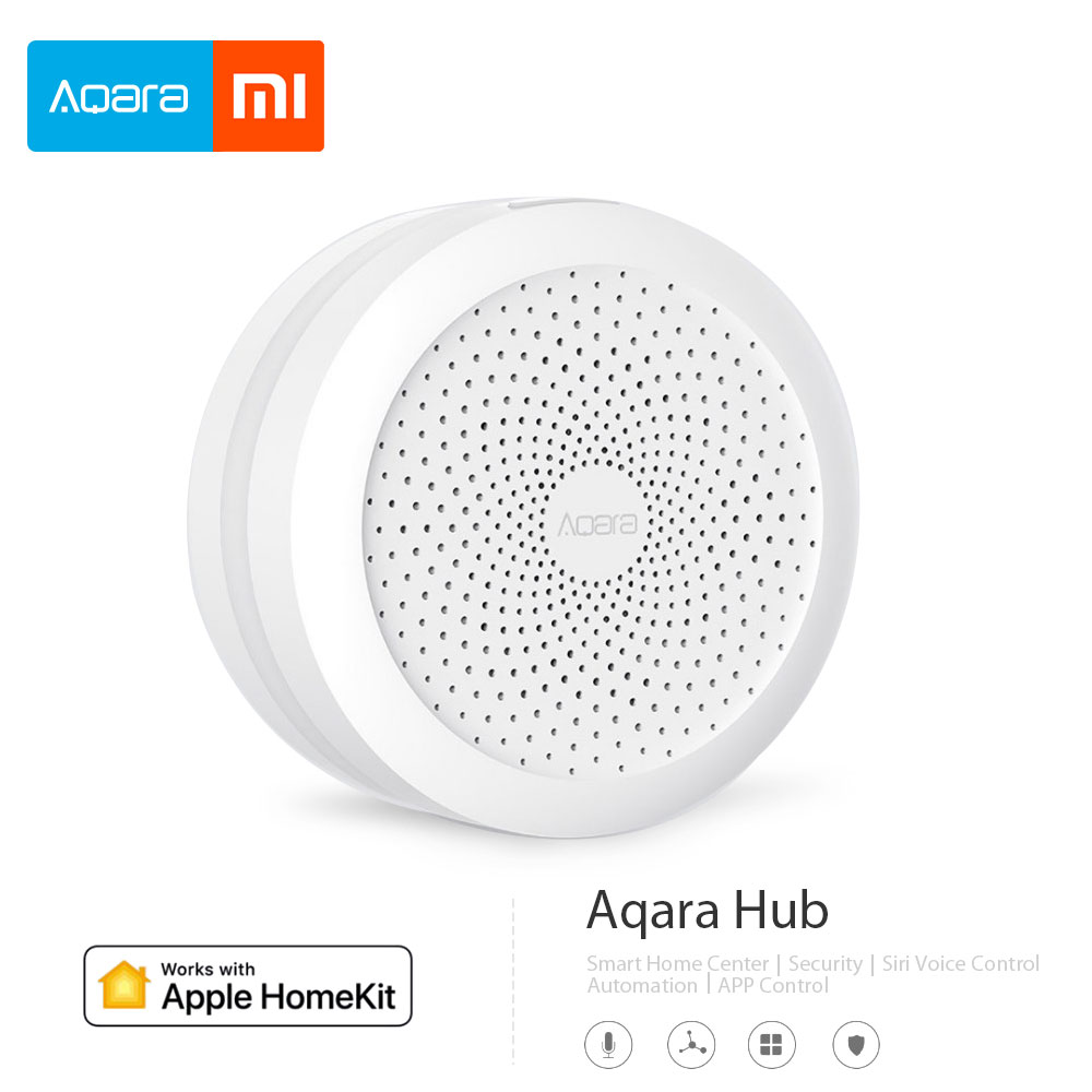 2018 Xiaomi Mijia Aqara Hub Mi Gateway with RGB Led night light Smart work with Apple