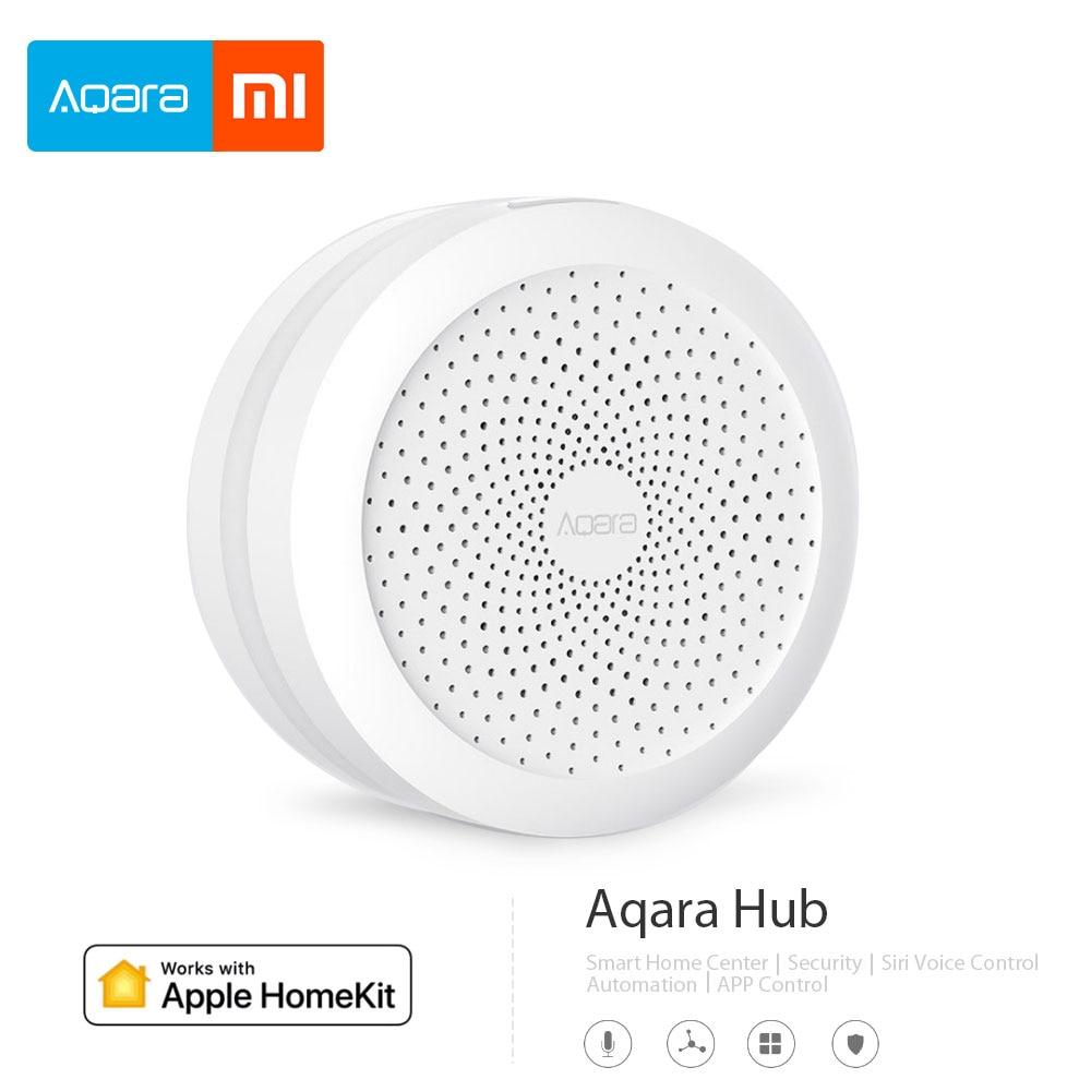 2018 Xiao mi mi jia Aqara Hub mi Passerelle avec RGB led lumière de nuit Intelligent travail avec Apple Homekit aqara app Édition Internationale