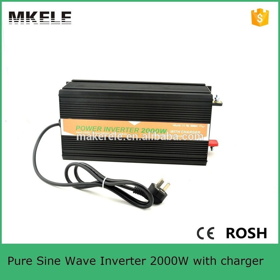 MKP2000-122B-C 2000w pure sine wave inverter charger,220/230vac 12v power inverter 2000w rechargable power inverter
