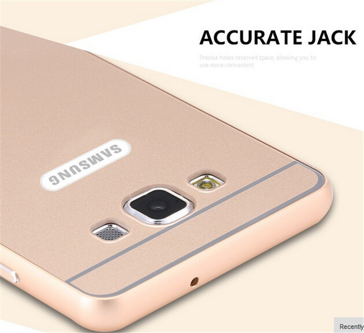 on sale 86fe3 7b99b US $2.99 |Cases For Samsung J7 Metal Aluminum +Acrylic Hard Case For  Samsung Galaxy J7 J700 Hybrid Ultrathin Back Armor Cover on Aliexpress.com  | ...