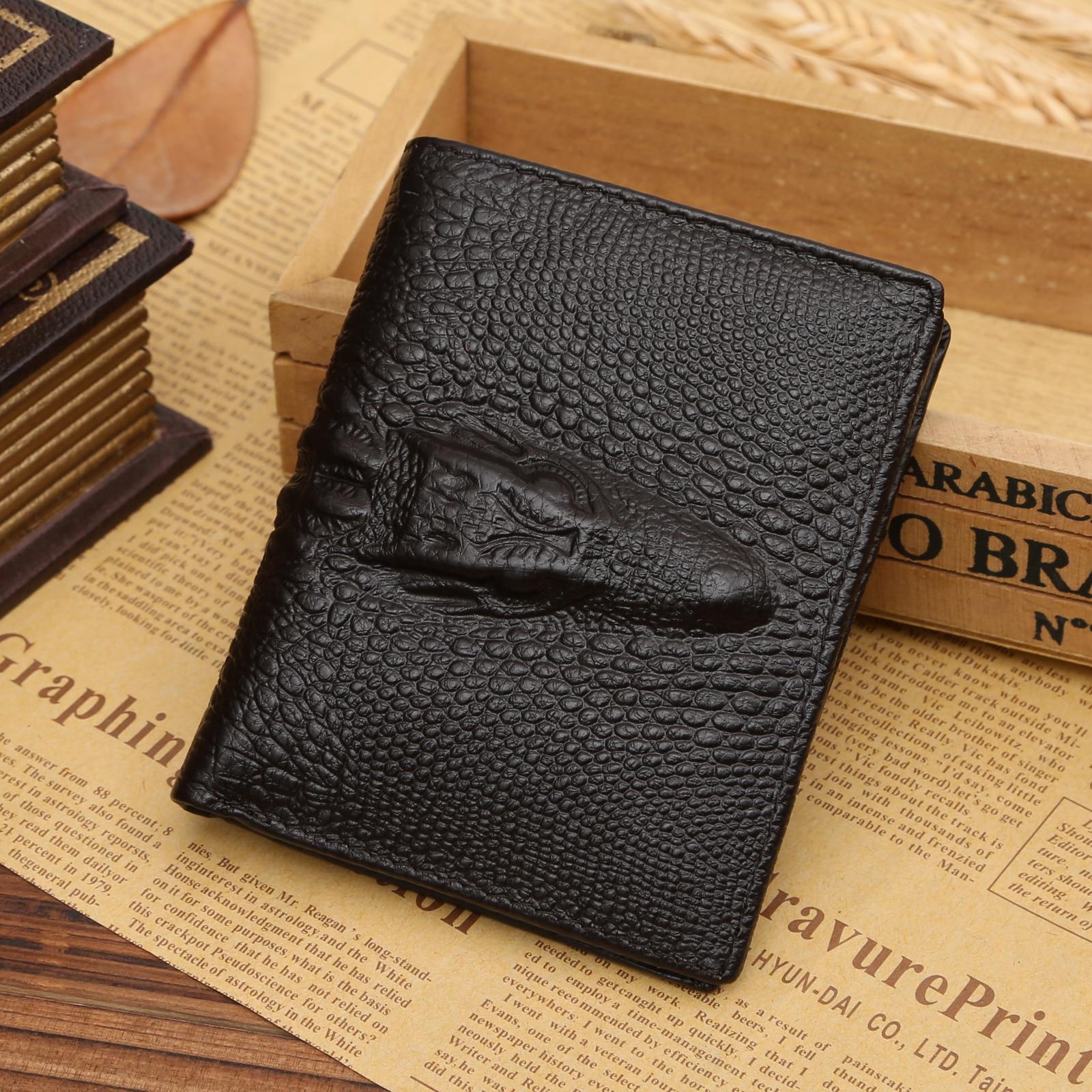 Men Wallet Font B Genius