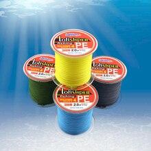 300m PE Braided Fishing Line 4 Stands 8LB 10LB 20LB 60LB Multifilament Fishing Line 4 colors carp fishing