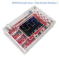 DSO138 2 4 TFT Digital Oscilloscope Kit DIY Case For DSO138 Oscilloscope Acrylic Box