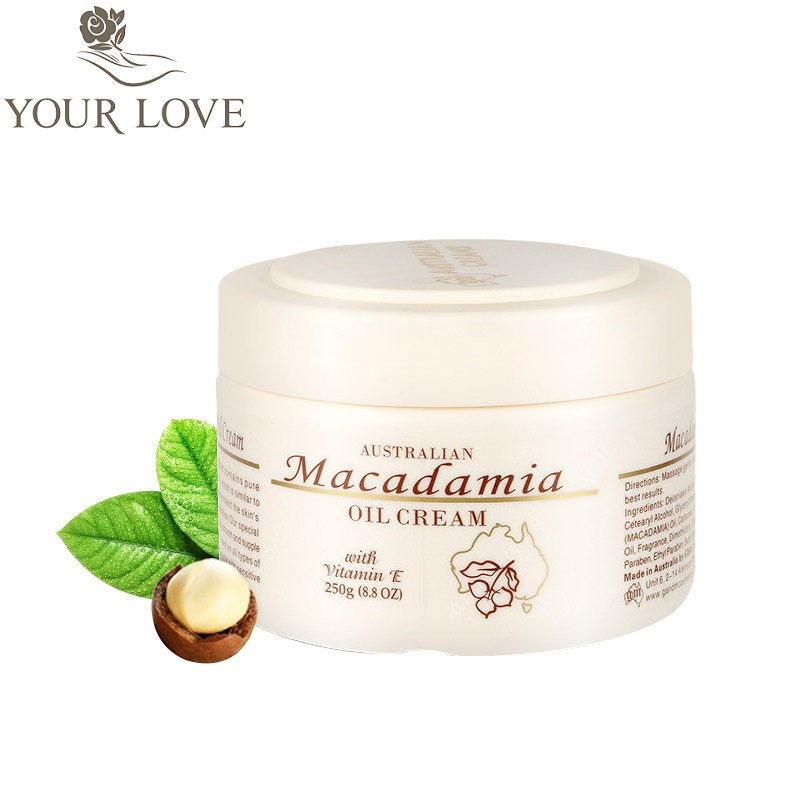 Australia GM Macadamia Oil Vitamin E Cream to protect the skin's moisture & prevents dehydration, suitable for sensitive skin