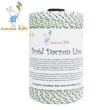 Леска для бумажного змея строка 1000ft 300lb Плетеный лавсан линии для рыбалки дельта воздушных змеев строка наружный шнур