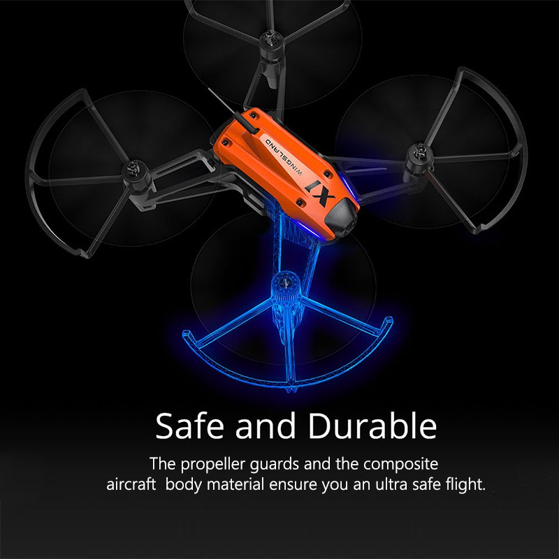 WINGSLAND Smart Mini RC Game Competition Drone Remote Control Toys Drones with Camera hd Helicopter Quadcopter drohne