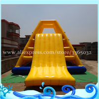 Special giant aqua park inflatable floating barrier inflatable slide with great price