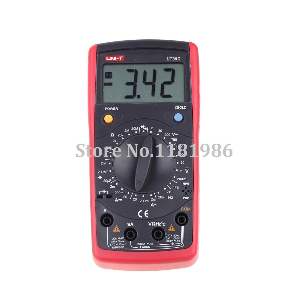UNI T UT39C General Digital Multimeters Electrical Handheld LCR Meter Tester Ammeter Multitester Multimetro