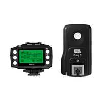 PIXEL King Pro For Sony 2.4G Wireless TTL HSS Transceiver Receiver Kit Flash Trigger For Sony A7RII A7R3 A6500 A850 A9