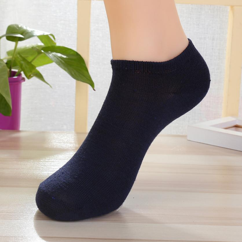 MUQGEW 2017 Fashion Men s Breathable Cotton Invisible Ship Boat Short Sock  Ankle Socks meias