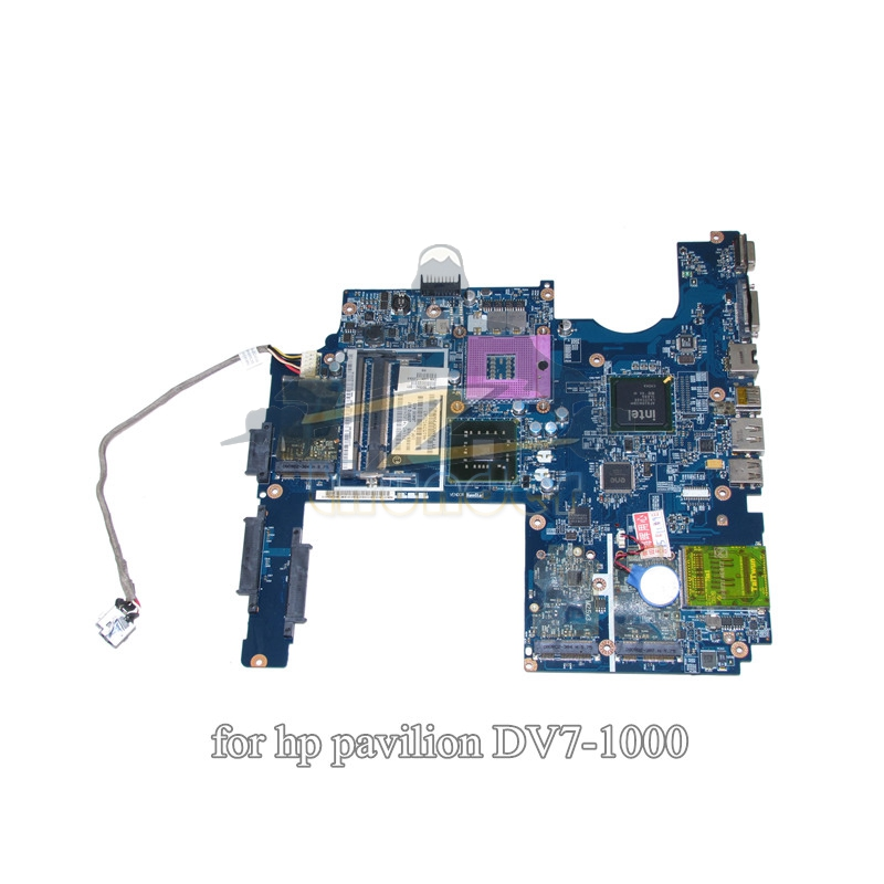500592-001 LA-4081P REV 1.0 for hp pavilion dv7 dv7-1000 dv7t-1100 laptop motherboard GM45 DDR2 507169 001 la 4083p for hp pavilion dv7 1200 laptop motherboard jak00 rev 1 0 intel pm45 ddr2 nvidia geforce 9600m mainboard