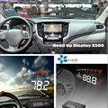 Автомобильный дисплей HUD на голову для Mitsubishi L200 2005-2019 Автомобильный Электронный безопасный проектор для вождения