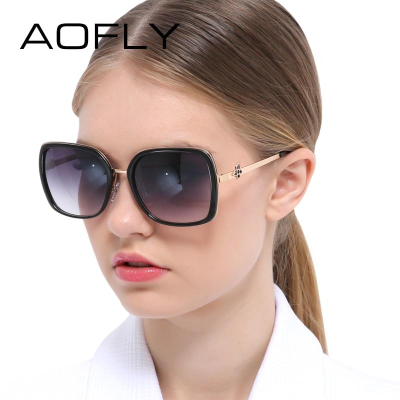 b4fbb9ed17 AOFLY Fashion Sunglasses Female Women Sunglasses Vintage Square Sun Glasses  Luxury Women Brand Designer Retro gafas de sol UV400-in Sunglasses from  Women s ...