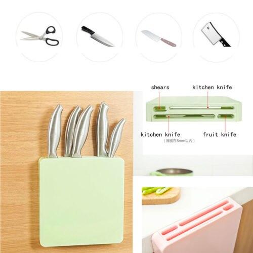 Knives Block Universal Storage Clean Kitchen Stylish Wall Hang Knife Holder Kitchen Tool