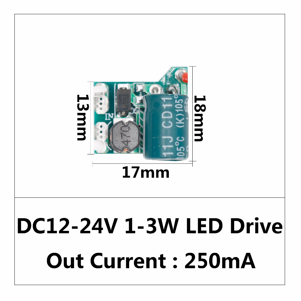 Led Driver 18w 36w Power Supply Constant Current 270 300ma Automatic Dc 512v Circuit 3w Buy 3wled Dc12 24v 3 12w Voltage Control
