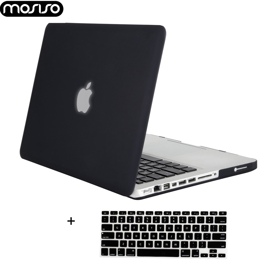 MOSISO Laptop Mac Pro Case Notebook Accessories For Macbook Pro 13 15 With CD Drive A1278 A1286 Year 2008-2012+Silicone KB Cover