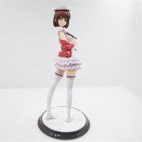 24 cm Japon Anime Figürü Saenai Heroine Hiçbir Sodatekata Katou Megumi Standı Ver. seksi Action Figure Koleksiyon Model Oyuncaklar L1265
