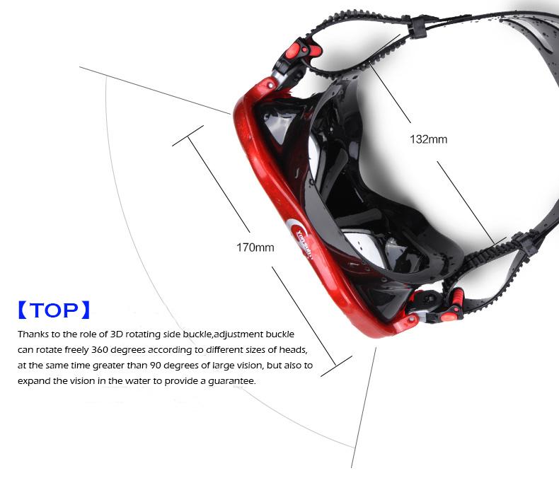 234a13af9 Yon Sub Sambo terno equipamento de mergulho óculos de mergulho tubo de  respiração espelho máscara adulto. 1. 10 2 3 4 5 6