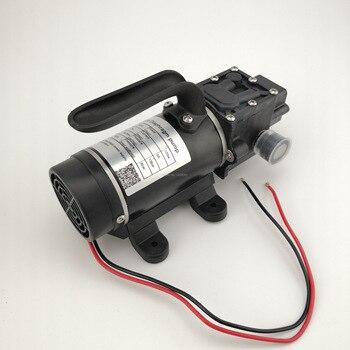 10L/min 120W electric high pressure self priming small dc Water Pump Diaphragm pump 12v 24v 5 5l min 24v dc 80w high pressure self priming sprayer pump electric diaphragm pump