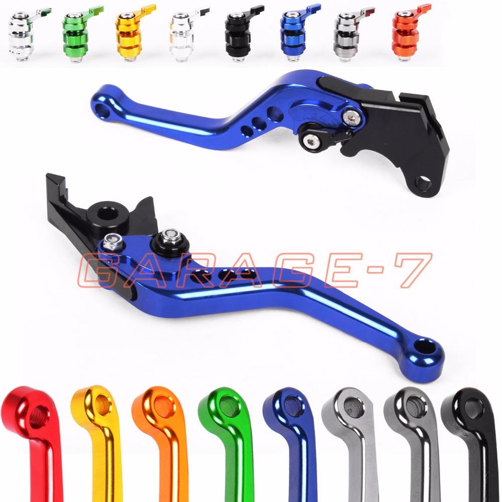 10 Colors For Yamaha XT 350 XTZ 750 Super Tenere YFZ 350 Banshee DT125R DT125RL CNC Motorcycle Short/ Long Clutch Brake Levers cnc adjustable clutch brake levers set short long 2 style 10 colors fit for kymco downtown 125 200 300 350