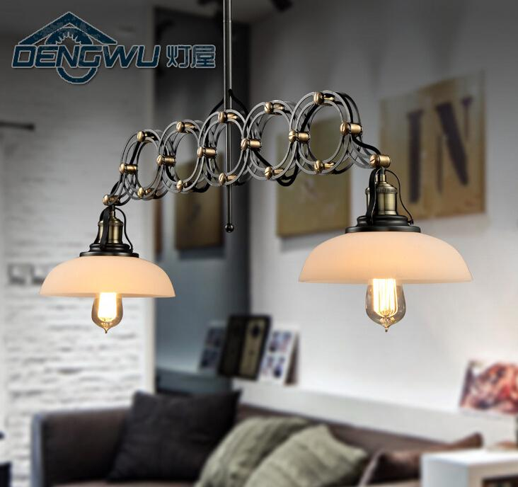 American Countryside Loft Style Pendant Light Wrought Iron Scissor Light Coffee Shop Decoration Light Bars Light Free Shipping