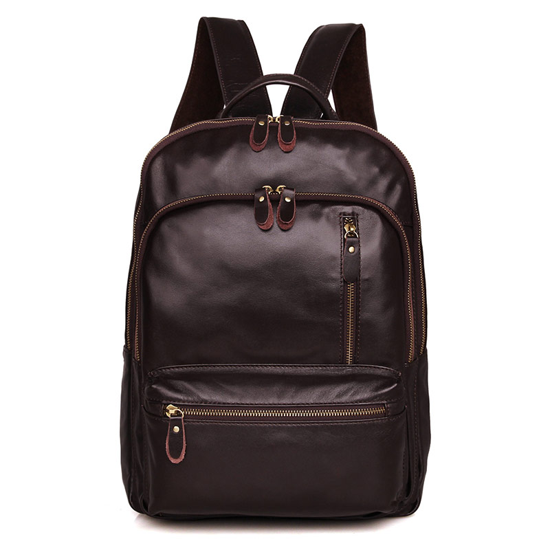 JMD Women Men Backpack Genuine Leather Mochila Escolar School Bags For Teenagers Girls Top-handle Backpacks Herald Fashion Bags