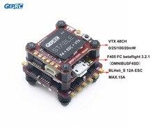Geprc Ổn Định F4 Mini Bay Tháp F4 Điều Khiển Bay Betaflight + 12A/20A BLHELI S 4in1 ESC + 48CH 200 MW VTX Cho Micro Drone FPV