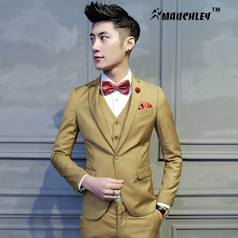 Mens Modern Slim Fit Suits - Hardon Clothes