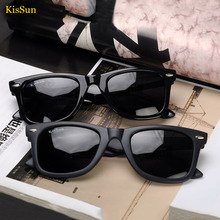 2016 Black G ray Way Polarized fare Eyewear Women Sunglasses Retro Girls Children Kids Sun Glasses KisSun Brand Original Logo