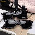 2017 new mujer retro gafas de sol polarizadas negro g ray mujeres del estilo gafas de sol polarizadas de pesca kissun logotipo de la marca de gafas de sol de las señoras